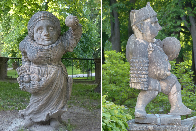 Dwarf Gnome Park - Sound of Music Tour in Salzburg