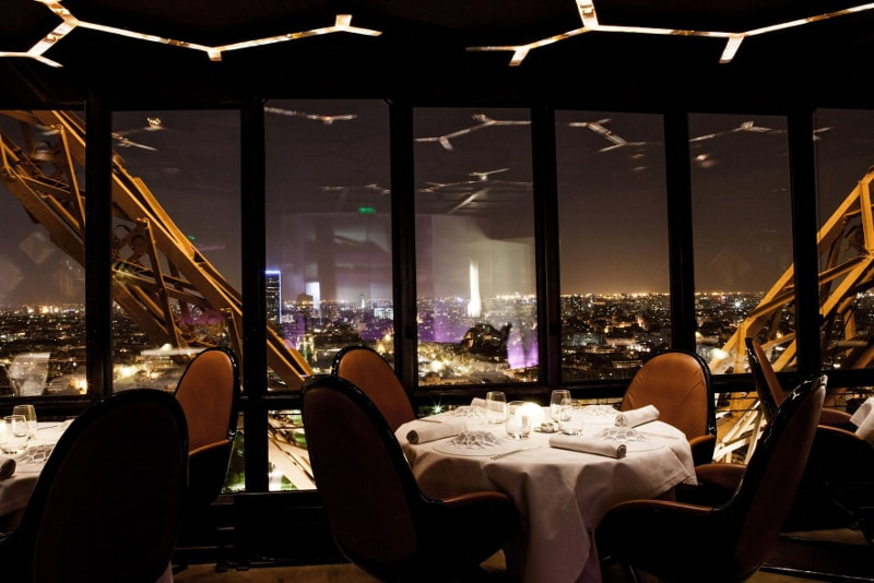 Eiffelturm-Restaurant