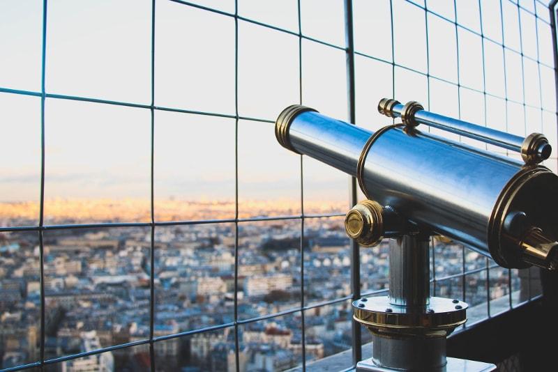 Torre Eiffel segundo piso