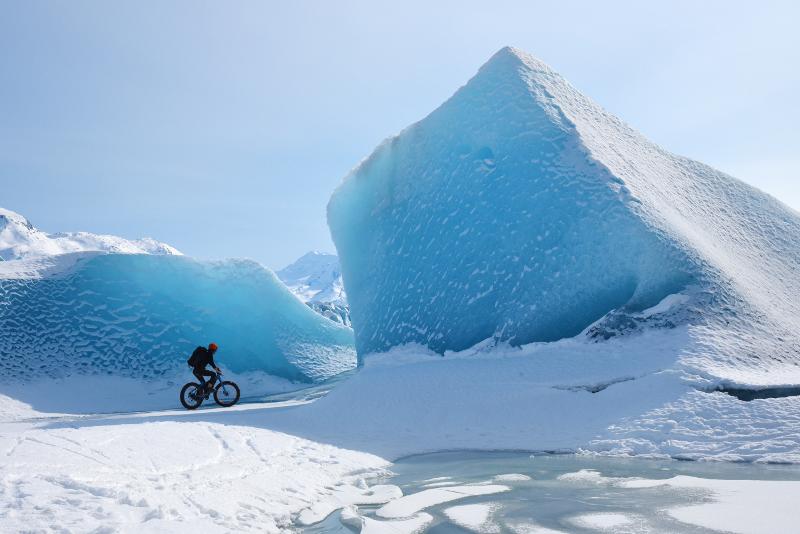 Fatbike - Excursions Pour Voir les Aurores Boréales en Islande