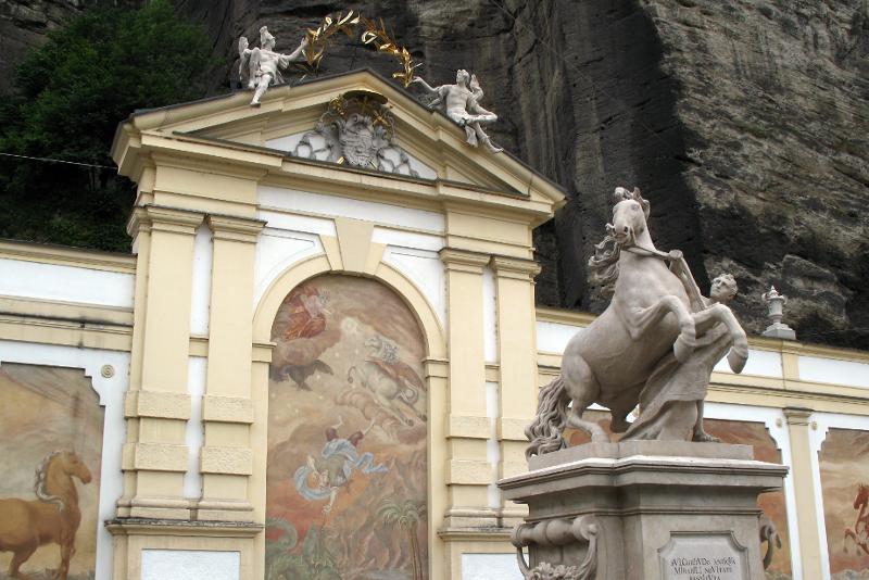 Horse Bath - Sound of Music Tour in Salzburg