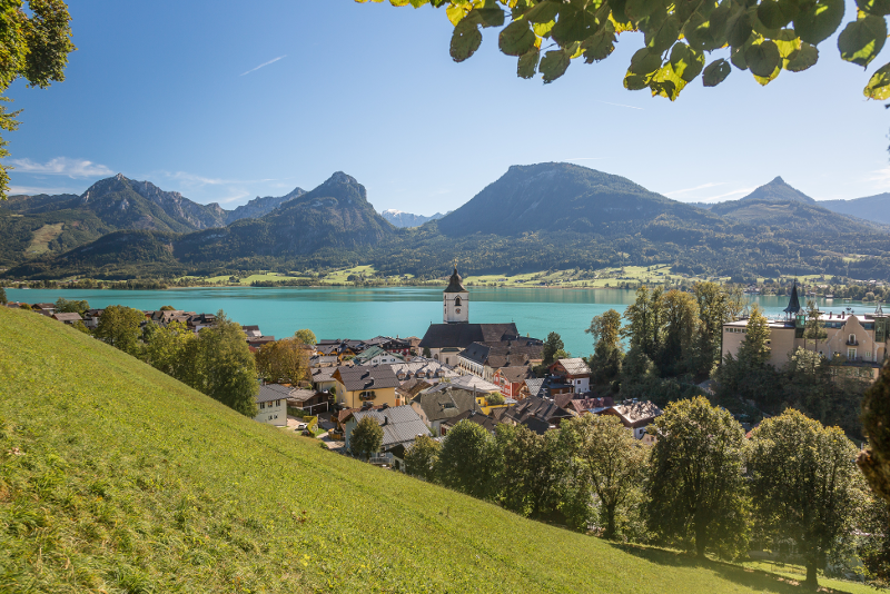 Lake Wolfgang - Sound of Music Tour in Salzburg