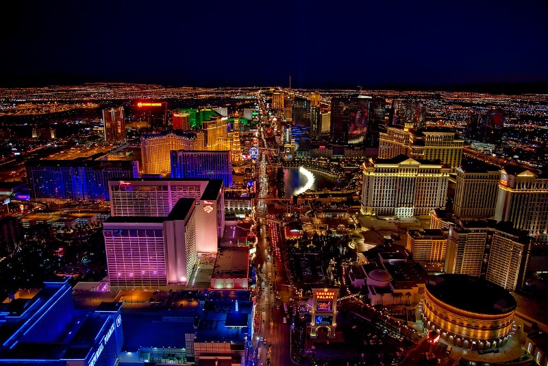 Tour in elicottero di Las Vegas di notte - tour in elicottero Las vegas