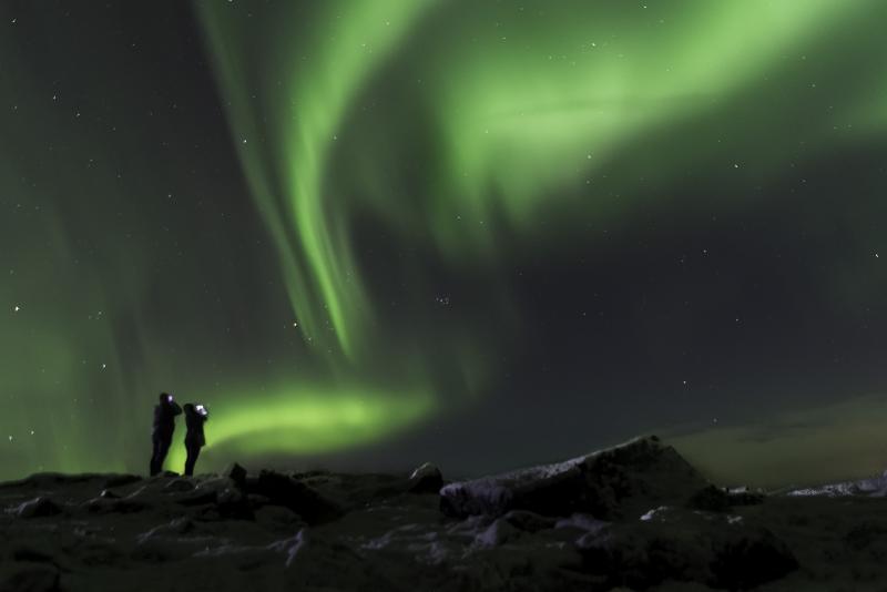 Excursions Pour Voir les Aurores Boréales en Islande