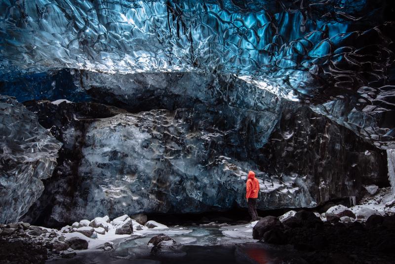 Glacier - Excursions Pour Voir les Aurores Boréales en Islande