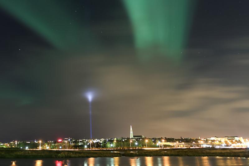 Tour Imagine Peace - Excursions Pour Voir les Aurores Boréales en Islande