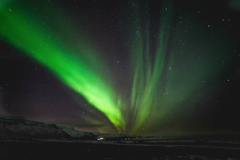 14 Increíbles Excursiones a la Aurora Boreal en Islandia - península de Snæfellsnes