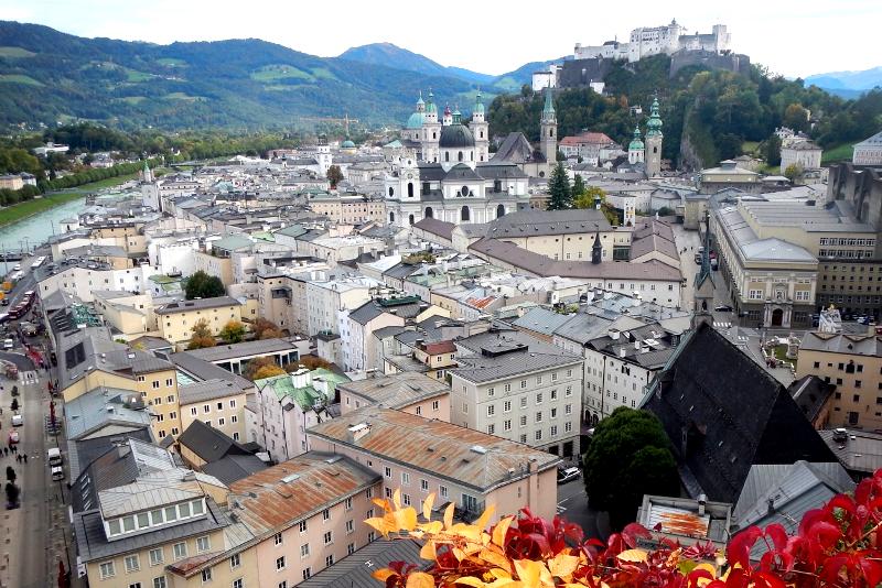Winkler Terrace - Sound of Music Tour in Salzburg