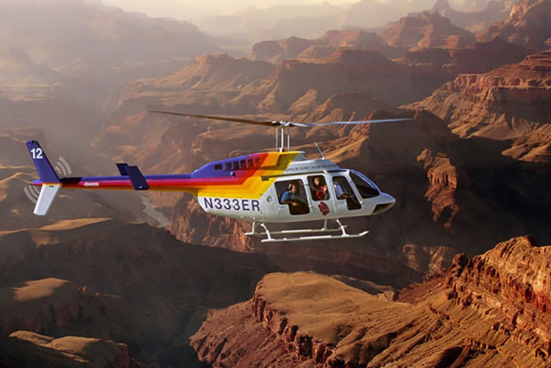Tour in elicottero del Grand Canyon da Las Vegas - tour in elicottero Las Vegas