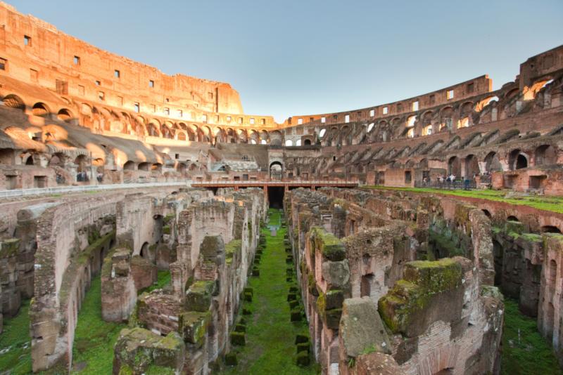 Colosseo e sotterranei