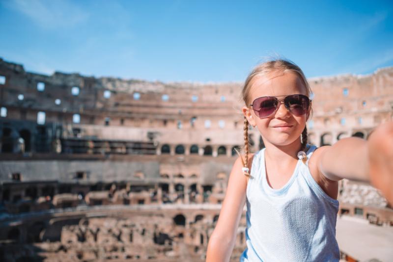 visite guidate del Colosseo per bambini e famiglie