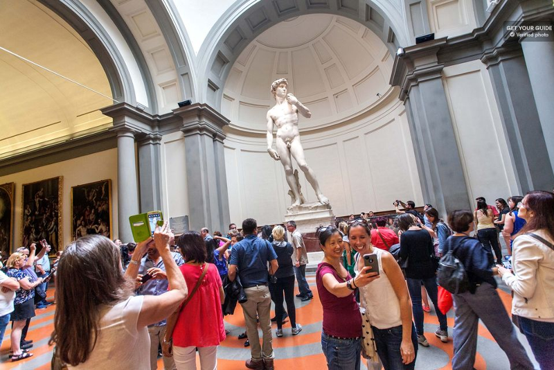 Accademia Galerie in Florenz
