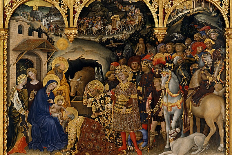 Adoration of the Magi - Gentile da Fabriano