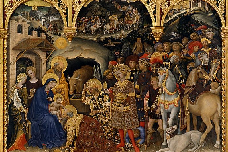 Anbetung der Könige - Gentile da Fabriano - Uffizien Galerie last minute tickets