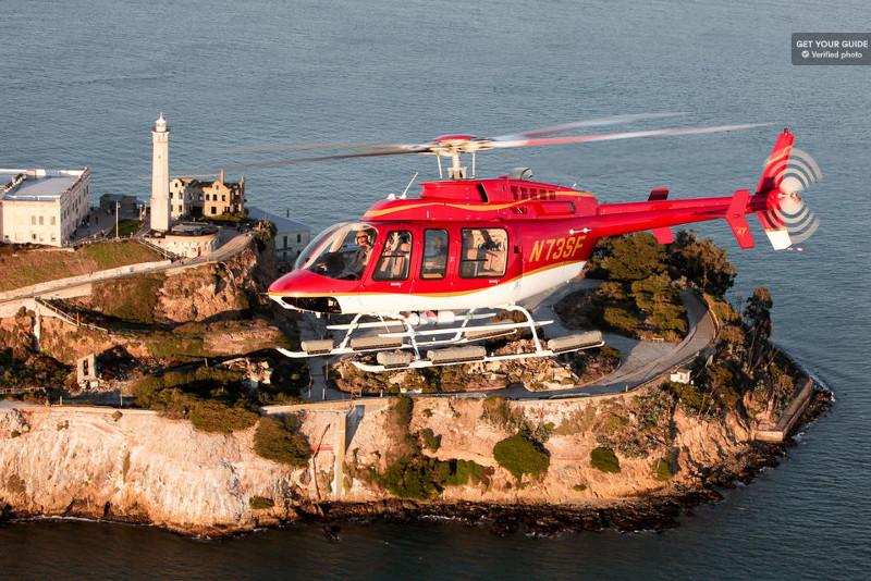 Alcatraz de helicóptero - Bilhetes Ilha de Alcatraz