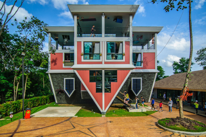 Baan Teelanka - Upside Down House - Things To Do In Phuket