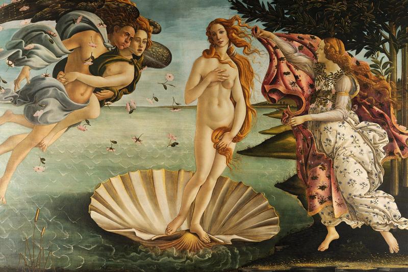 Nacimiento de Venus - Sandro Botticelli