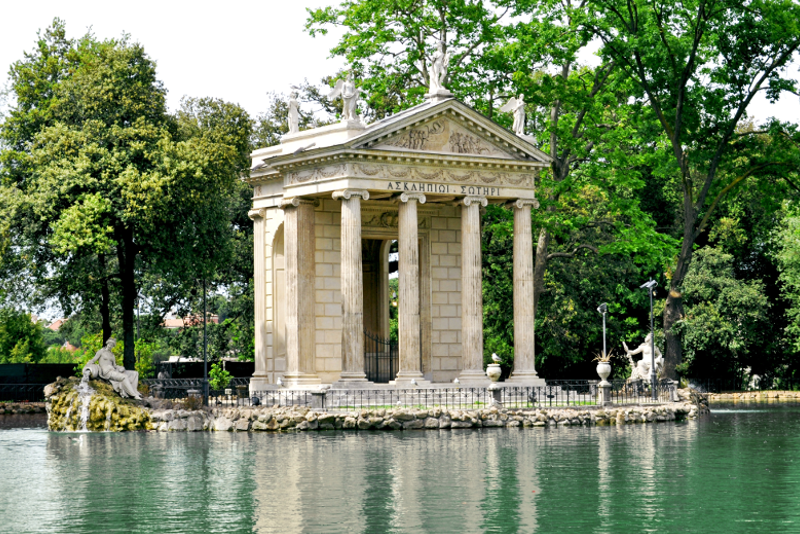 Villa y jardines Borghese