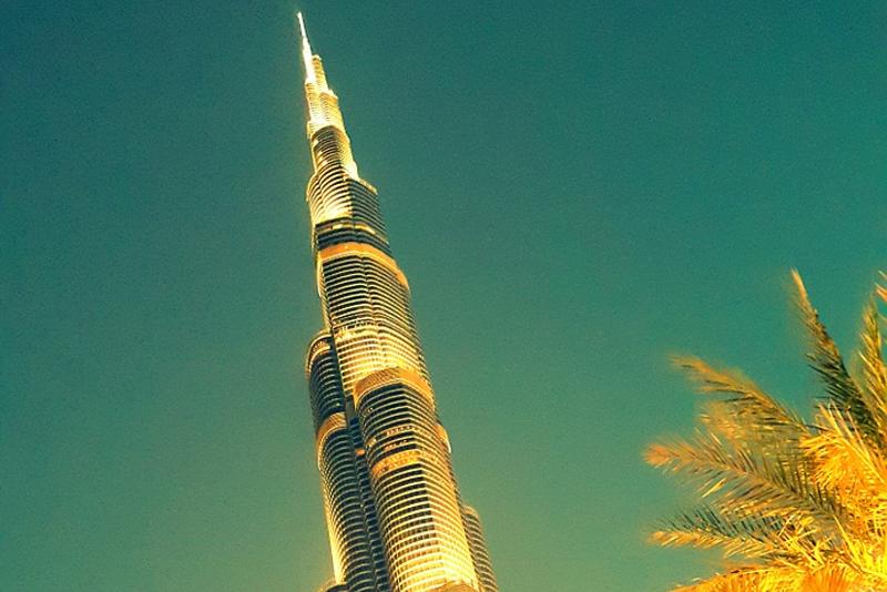 Burj Khalifa - scalo aeroporto Dubai