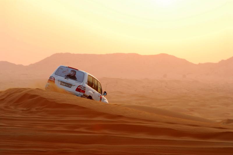 Safari en el desierto en Dubai