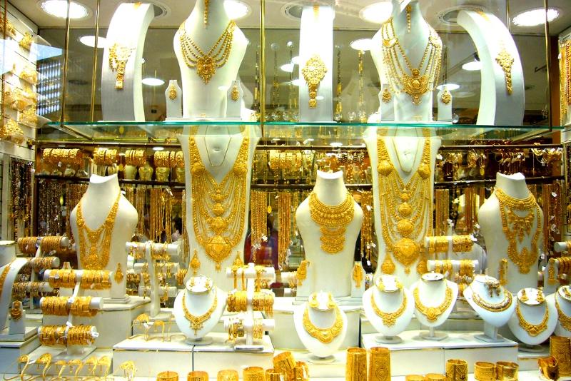 Suk dell'oro - scalo aeroporto di Dubai