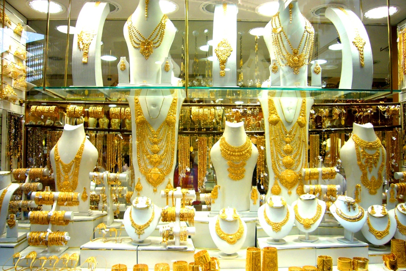 Gold Souk - 18 Best Things to Do on a Stopover from Dubai Airport