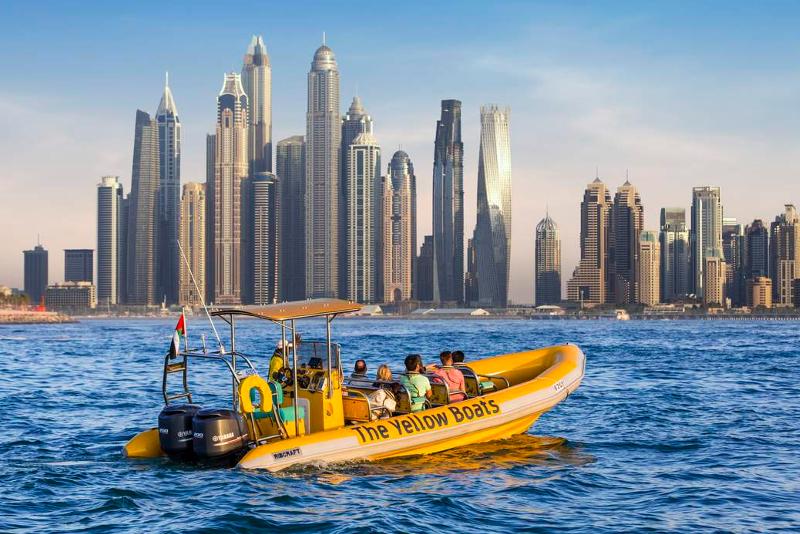Passeios de barco -  Coisas para fazer escala Dubai