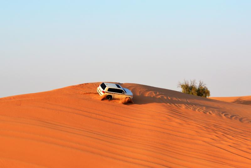 Dune bashing Desert Safari Doha