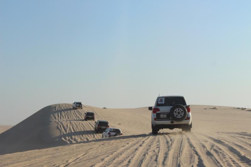 Dune bashing - Cosas que Hacer en una Escala en Doha (Catar)