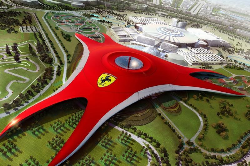 Ferrari World - Parques Temáticos em Dubai