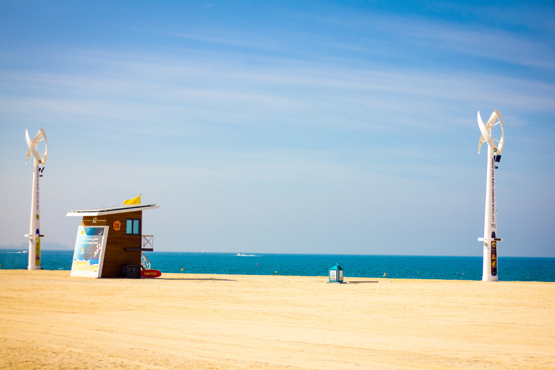 Spiaggia JBR - scalo aeroporto Dubai