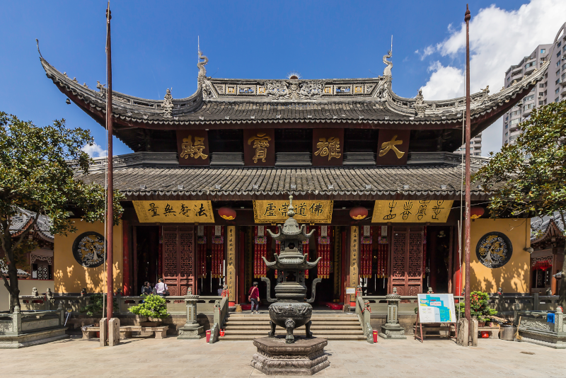 Jade Buddha Temple - things to do in Shanghai