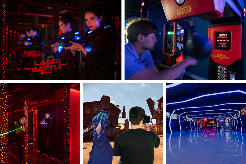 Space Game Laser Battle - Things To Do In Phuket
