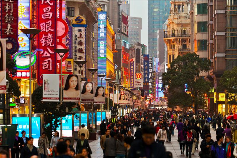 Nanjing Road - things to do in Shanghai
