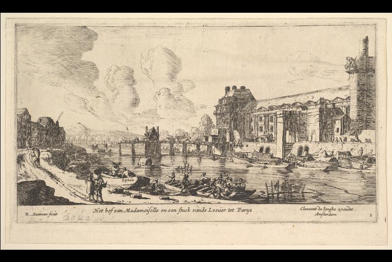 Vista del Louvre e delle Tuileries, XVII secolo - Biglietti last minute per il Museo del Louvre