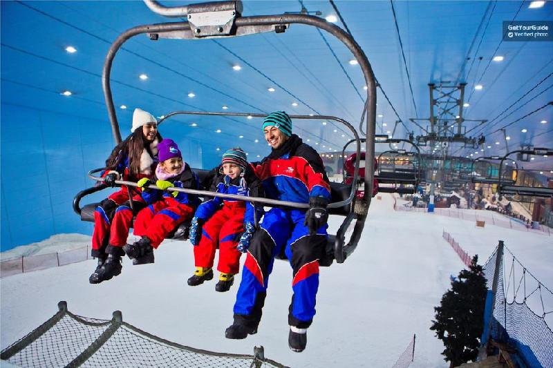Ski Dubai - Parques Temáticos em Dubai