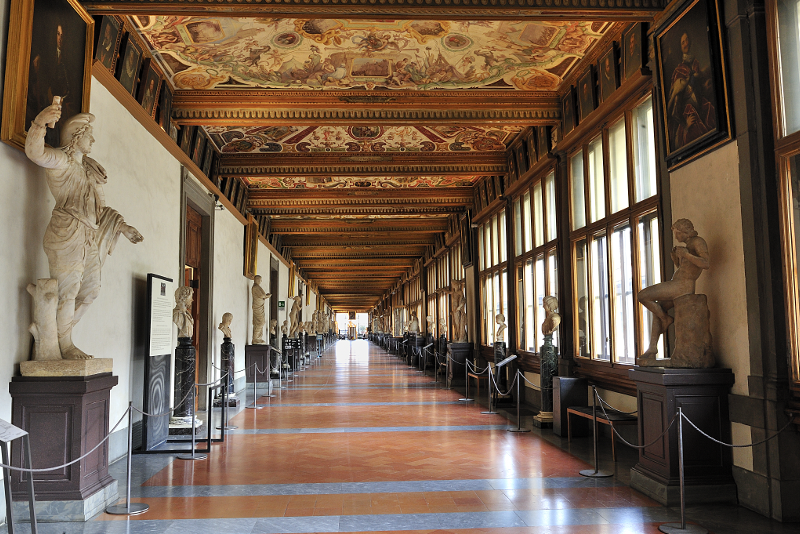 Galleria degli Uffizi - Bilhetes Galeria da Academia