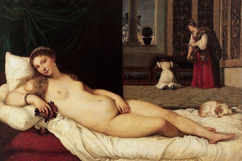 Venus de Urbino - Tiziano