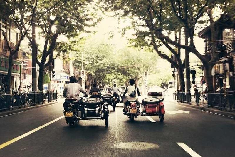Vintage sidecar