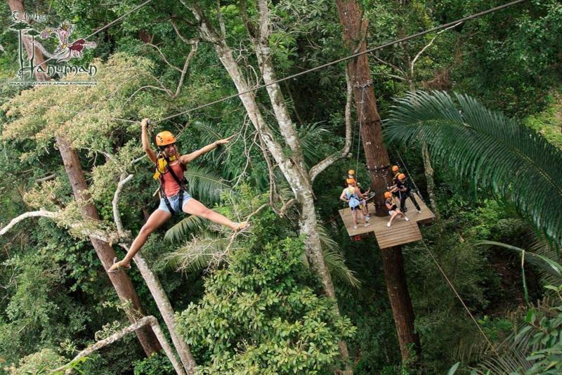 Ziplining - Things To Do In Phuket