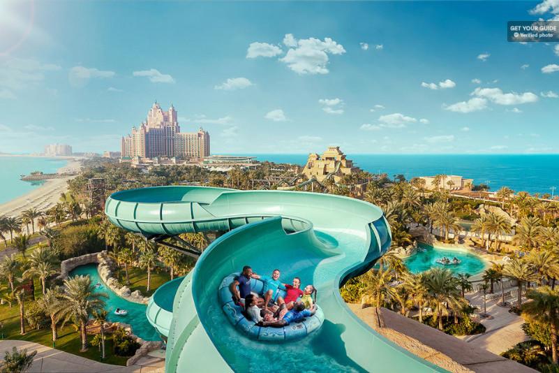 Atlantis Aquaventure Waterpark - Parques Temáticos em Dubai