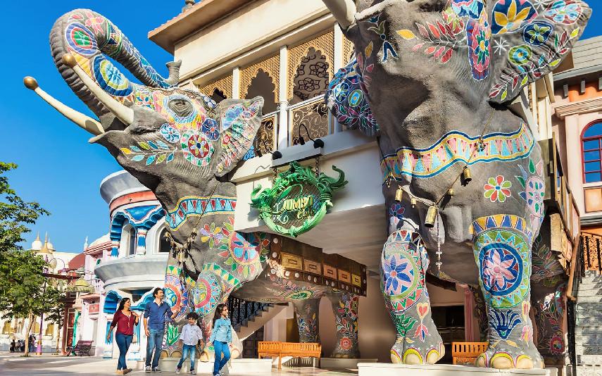 Bollywood Parks - Parques Temáticos em Dubai