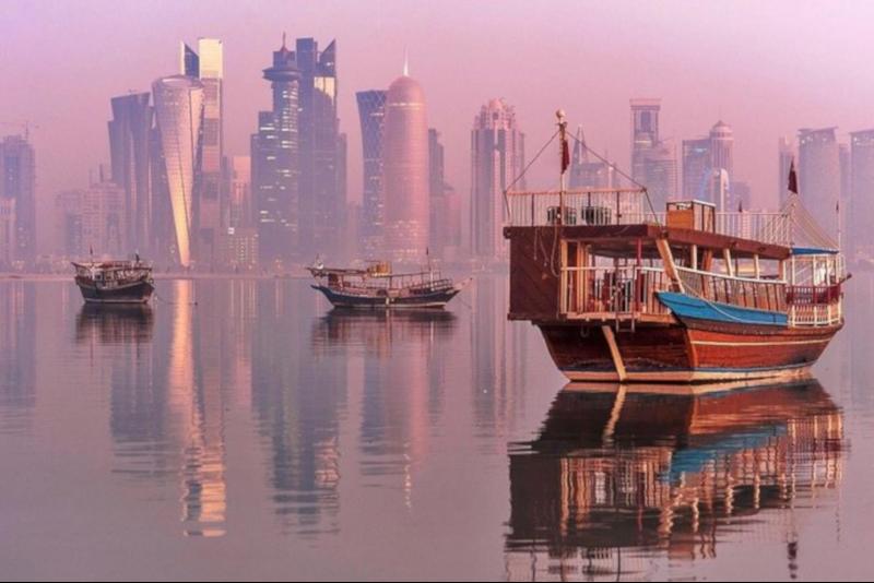 Paseo en Dhow - Cosas que Hacer en una Escala en Doha (Catar)