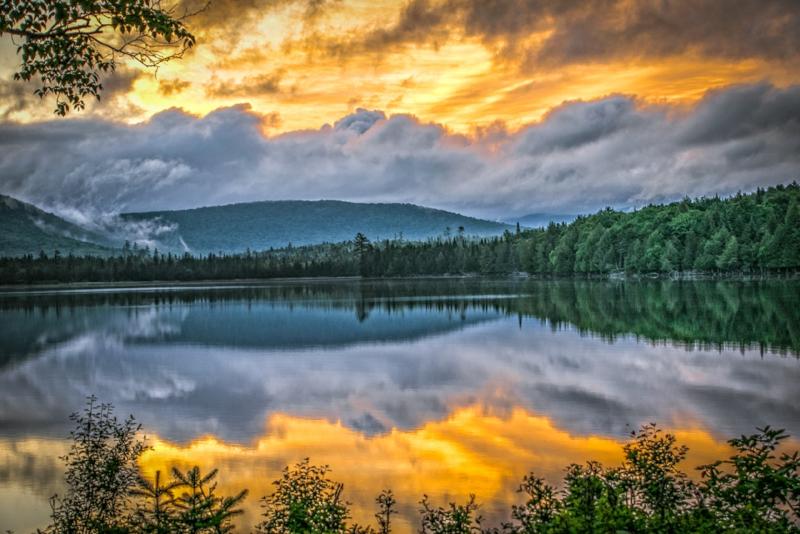 Adirondacks Lake - day trips from New York City