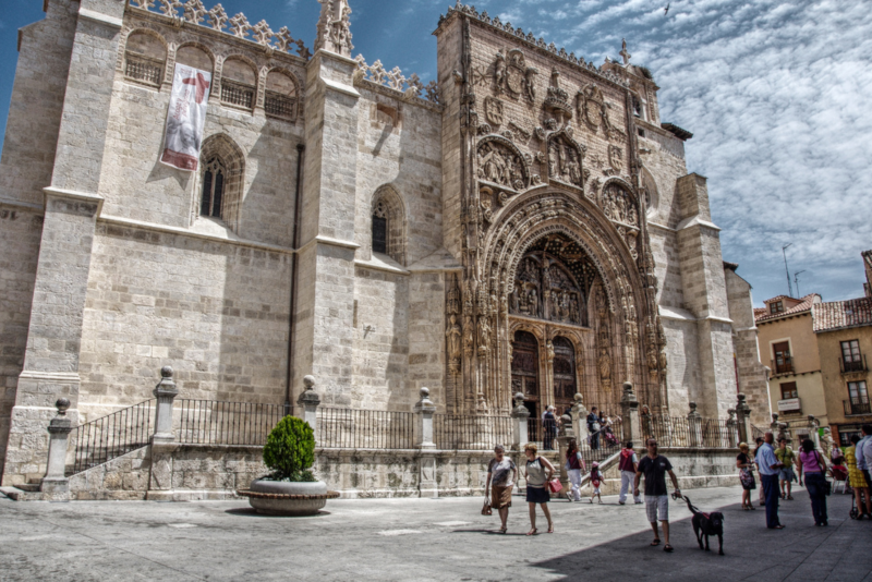 Santa María Kirche in Aranda de Duero - Tagesausflüge von Madrid