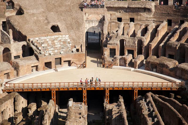 Entradas Subterráneos del Coliseo - Todo lo que Debes Saber