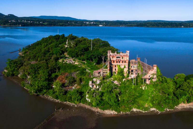 Bannerman Island  - day trips from New York City