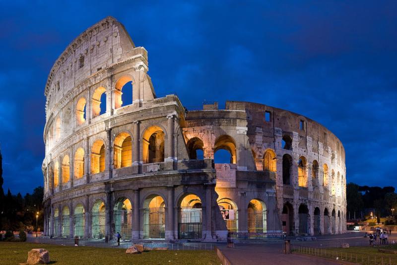 Coliseu à noite - Bilhetes subterrâneos Coliseu