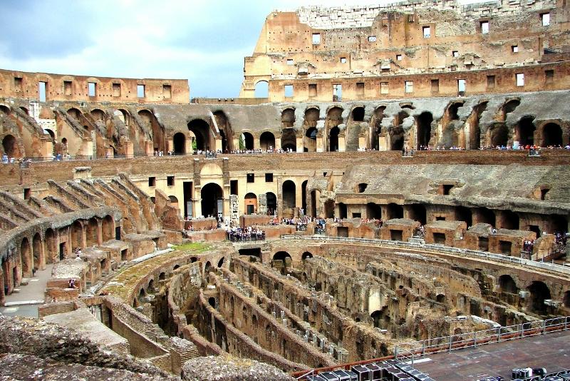 Colosseum underground & tickets