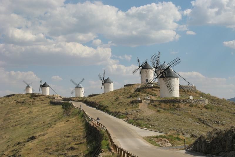 Windmühlen in Consuegra - Tagesausflüge von Madrid